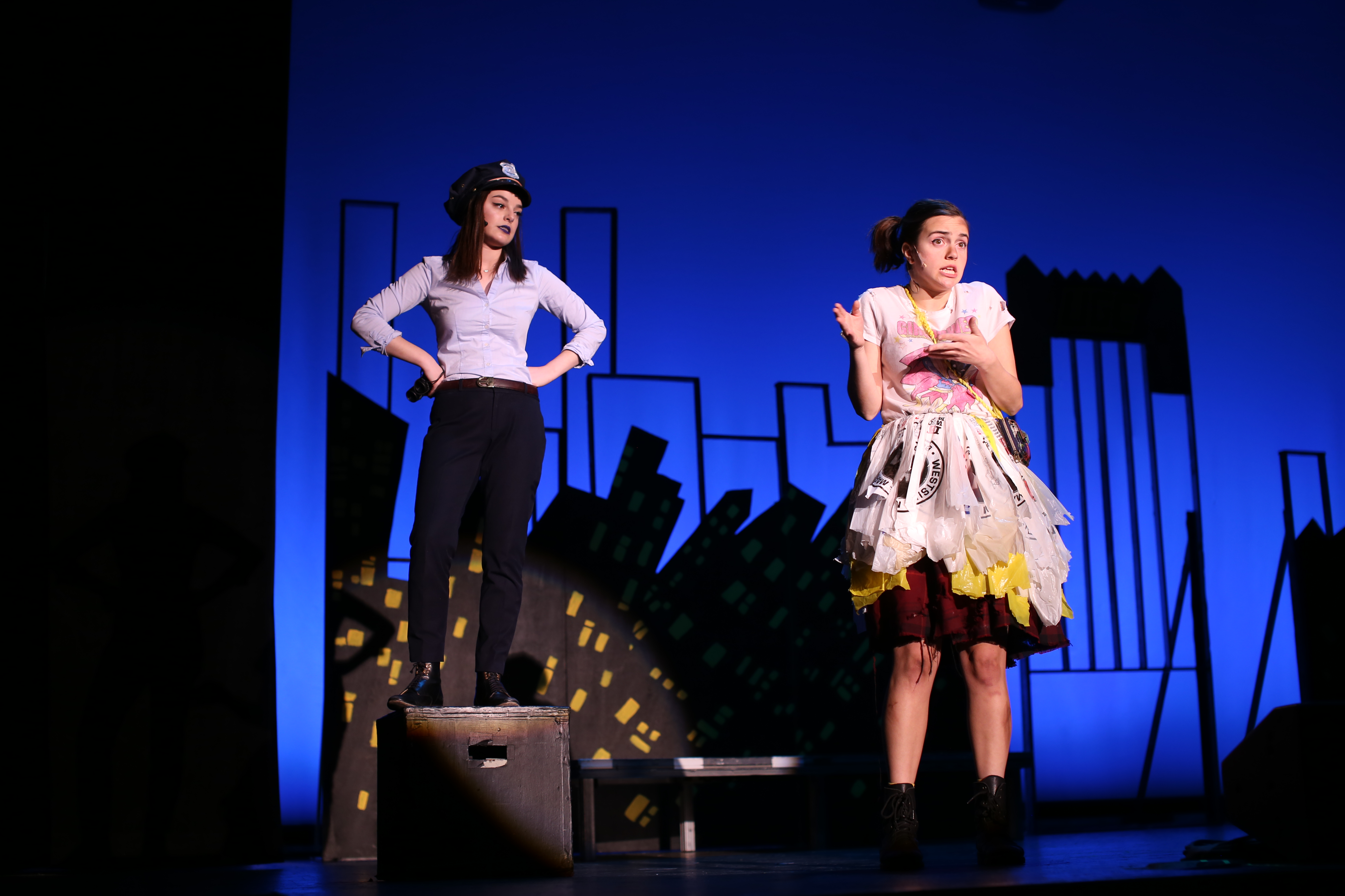 Urinetown: Maggie Vlietstra, Bernadette Bridges
