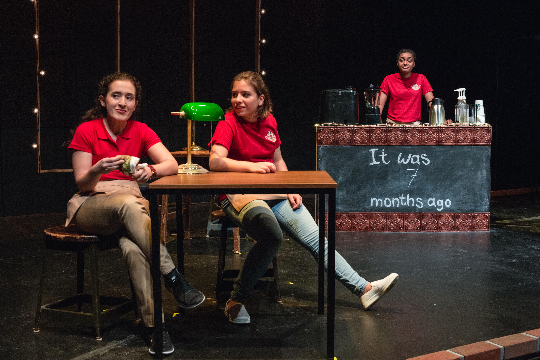 Regulars: Rachel Greenfeld, Sophie Laruelle, Gabby Bullard
