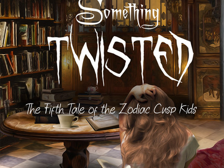 Something Twisted Cover Art  - First look!!