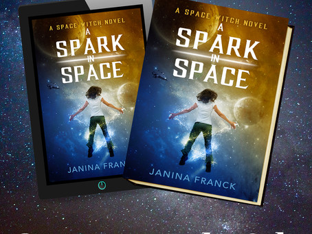 "Janina Franck's ""A Spark in Space Cover"" Reveal!"