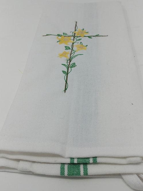 Set of three/flowered crosses