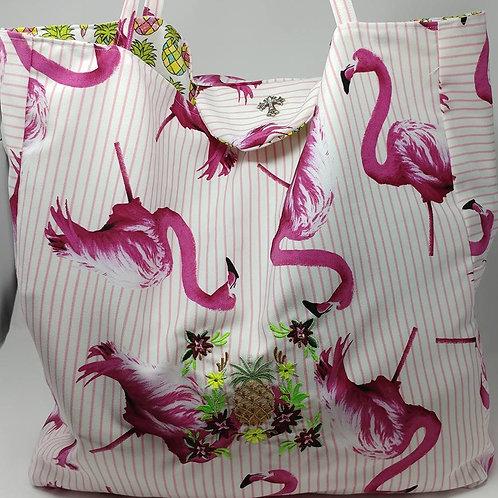 Flamingo Travel Bag