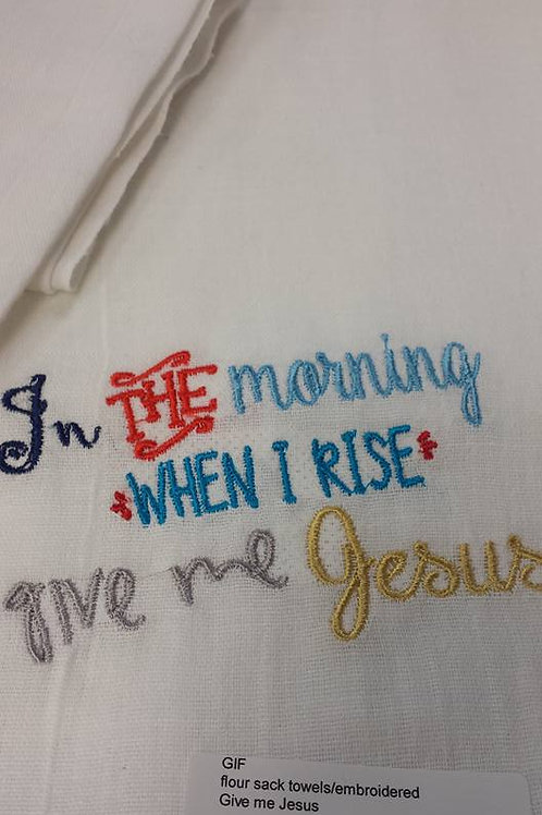 Glory Towels/In the morning