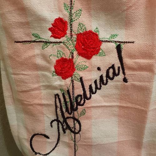 Alleluia tee towel