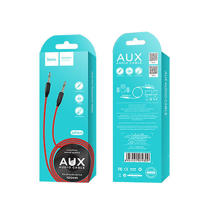 Hoco - UPA11 Audio AUX Cable 1M - Suits phones with headphone jack