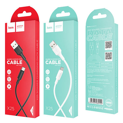 Hoco - X25 Type-C USB Cable 1M - Suits Android