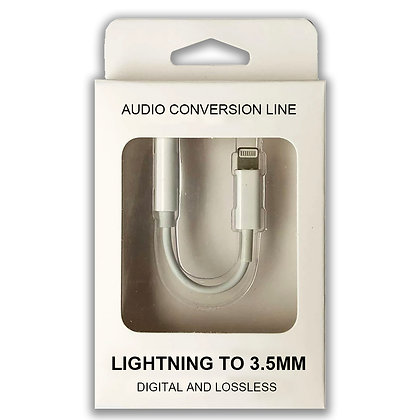 Lightning to 3.5mm Audio Adapter - Suits iPhone