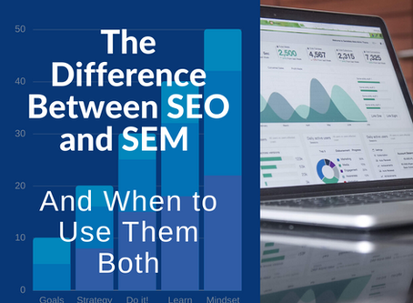 The Difference Between SEO and SEM and When to Use Them Both
