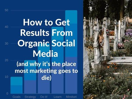 How to Get Results From Organic Social Media (and why it's the place most marketing goes to die)