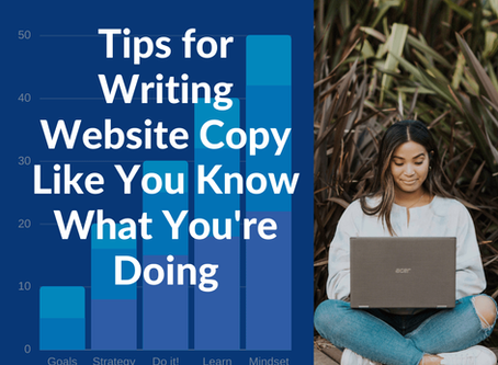 Tips for Writing Website Copy Like You Know What You're Doing