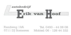 Advertentie Autobedrijf Erik van Hoof.pn