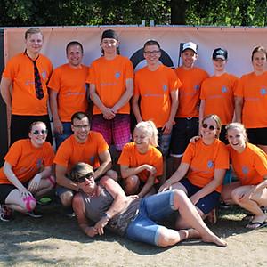 Teamfoto's senioren
