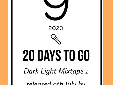 Dark Light Mixtape countdown
