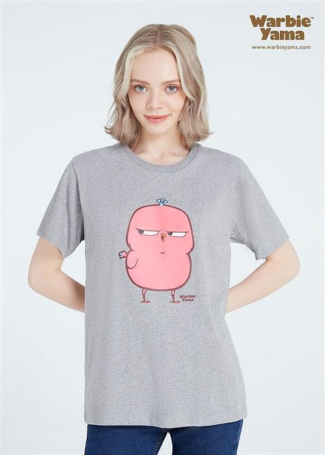 Phebie T-shirt premium soft  (grey)