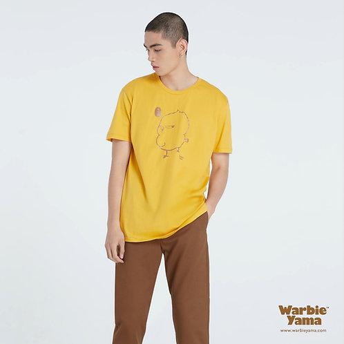 Warbie T-shirt cotton (Mustard )