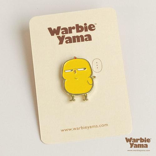 Warbie Enamel Pin