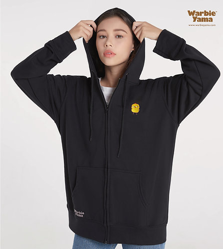 Warbie Full-Zip Hoodie (Black)