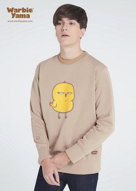 Warbie Sweatshirt : Beige (light brown)