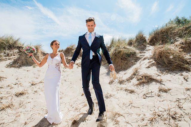 Wat een sprookjes huwelijk op het strand