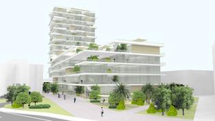 Poslovno-stambeni kompleks - Studija