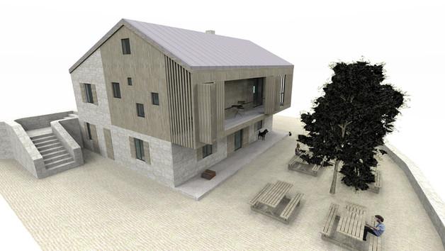 Planinarski dom - rekonstrukcija