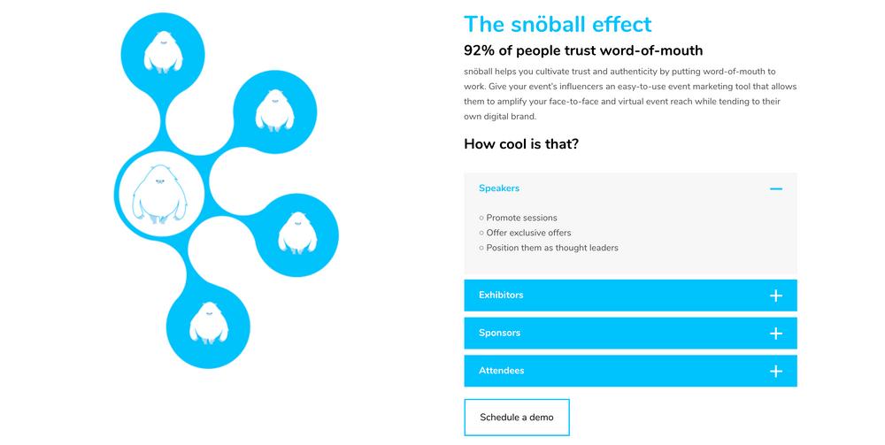 event influencer marketing   snöball.events