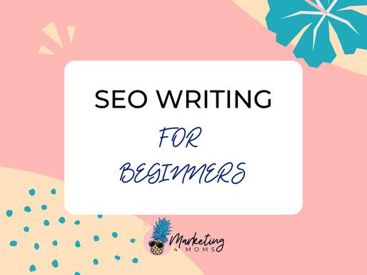 SEO Writing For Beginners