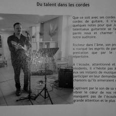 Article du journal de l'Ehpad Orpea Renouard (Clermont-ferrand)