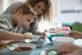 Get the kids involved for an eggscelent Easter