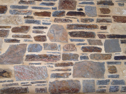Mortar Walling Using Adelaide Hills Blue
