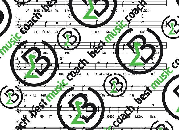 Jingle Bells C Major Level 1 Lead Sheet