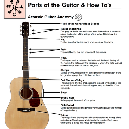 Learn the Parts of Your Guitar