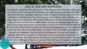 Jolly St. Nick: Meditation