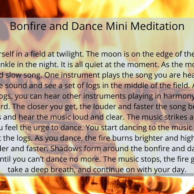 Bonfire and Dance