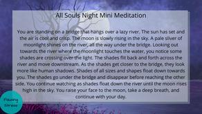 All Souls Night: Meditation