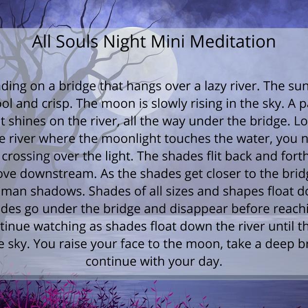 All Souls Night