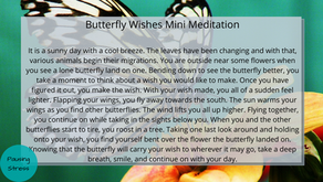 Butterfly Wishes: Meditation