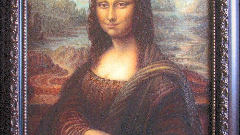 """Вера Борисевич. Копия картины Леонардо Да Винчи """"Мона Лиза""""."""