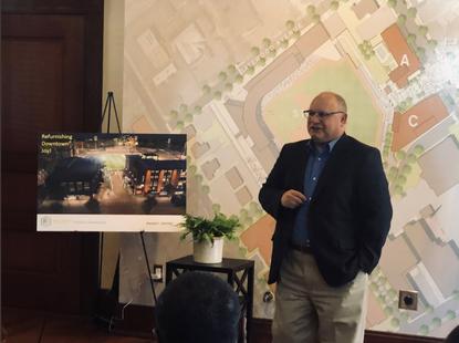 Elliott Sidewalk Communities unveils first building developed along baseball field in downtown High