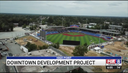 High Point leaders break ground on $80 million development project