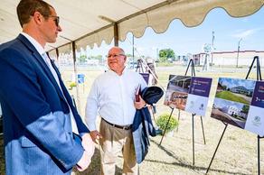 """New Gateway"" to Greenville breaks ground on 10th Street"