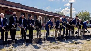 BREAKING GROUND. Work to begin on first phase of Intersect East