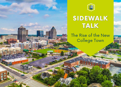 The Rise of the New College Town