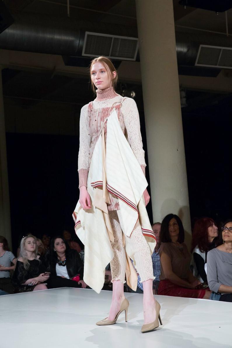 Woven textile design: Elizabeth Nwosu Knit Designer: Regan Marriner Photography: Gary Schempp
