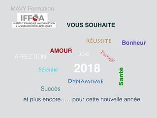 MAVY FORMATION ET L'IFFSA vous souhaitent un très joyeux Noel et une excellente année 2018