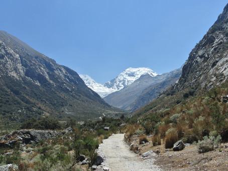 Huaraz - Part 2 - le trek dans la Cordillère blanche. 3J / 2N