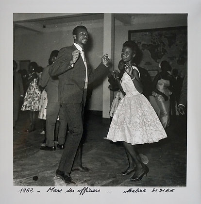 Malick Sidibé - Mess des officiers - 1962