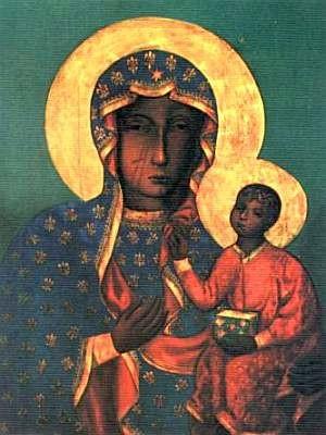Vierge Noire de Częstochowa, Pologne