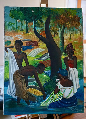 Idrissa Diarra, La lessive