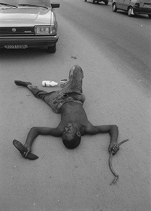 "Dorris Haron Kasco, série ""Les fous d'Abidjan"", n°13,  1993"
